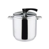 Pressure cooker for 5& 7 lt. 2 pcs: 1 lid, 1 casserole