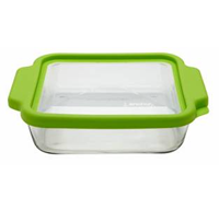 •8 inch Square Baking Dish  •TrueFit plastic lid  •Lid BPA Free  •Open Stock  •Item# 91735TSB