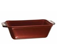 Серия Non-stick Форма для выпечки хлеба1,5 л. Антипригарное покрытие красного кирпичного цвета, предотвращающее пригорание пищи Легко чистится Идеально для духовки и декорации стола Пища пропекается равномерно