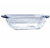 •1.5qt. Loaf Dish  •Antique inspired design  •Round corners promotes even baking  •Open Stock  •3 each  •Item# 91677W9